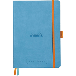 Cuaderno Rhodia GoalBook - 14,8 x 21 cm - Color Turquesa