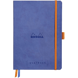 Cuaderno Rhodia GoalBook - 14,8 x 21 cm - Color Zafiro