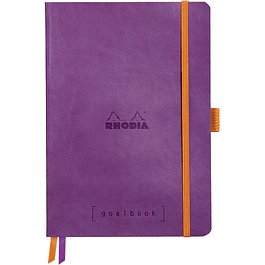 Cuaderno Rhodia GoalBook - 14,8 x 21 cm - Color Morado