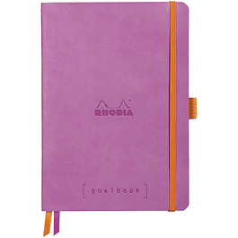 Cuaderno Rhodia GoalBook - 14,8 x 21 cm - Color Rosa