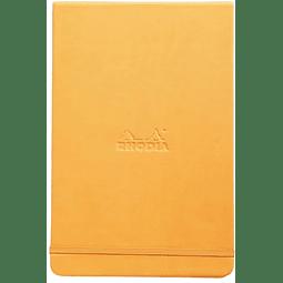 Libreta Notas 14,8 x 21 cm - Naranjo
