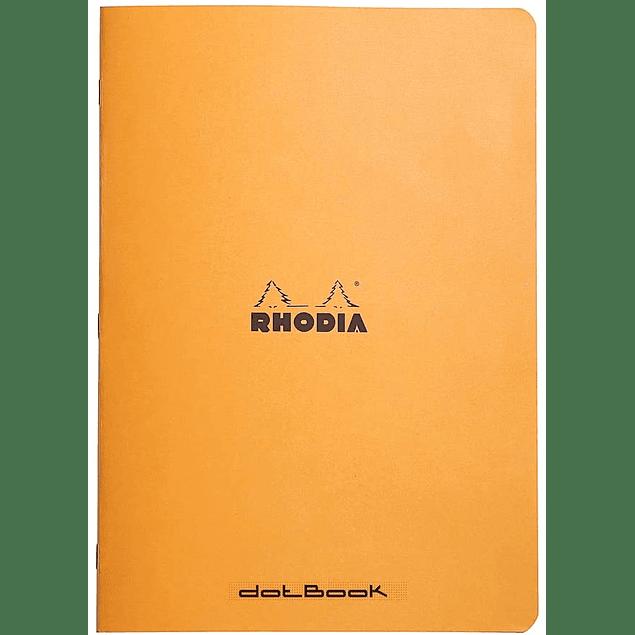 Cuaderno Flexible Grapado A4 21 x 29,7 cm - Color Naranjo