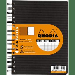 Recambio Rhodia Exameeting, A5+ 16 x 21 cm