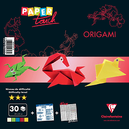 Paper Touch - Kit Origami, 30 papeles 20 x 20 cm