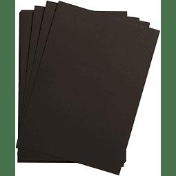 "5 Láminas ""Etival"" doble cara para acuarela - Papel Negro 300 g (3 tamaños)"