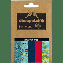 Papeles Decopatch - Nº20