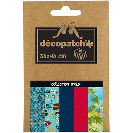 Papeles Decopatch - Nº20