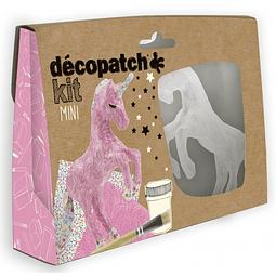 Mini Kit - Unicornio + 2 papeles Decopatch