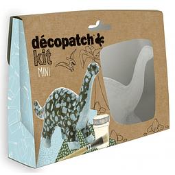 Mini Kit - Dinosaurio + 2 papeles Decopatch