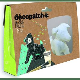 Mini Kit - Perro + 2 papeles Decopatch