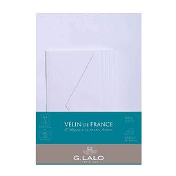 Set de correspondencia A4 - Vélin de France - Extra Blanco