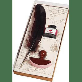 Kit de escritura, color rojo opera