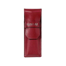 Case de cuero para Boligrafos - Color rojo