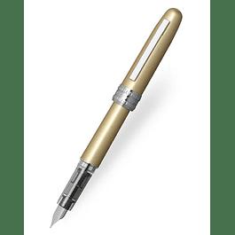 Platinum Plaisir Fountain Pen - Yellow F