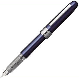 Platinum Plaisir Fountain Pen - Blue F