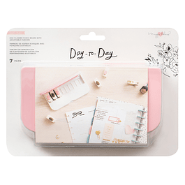 Disc Planner Punch Board