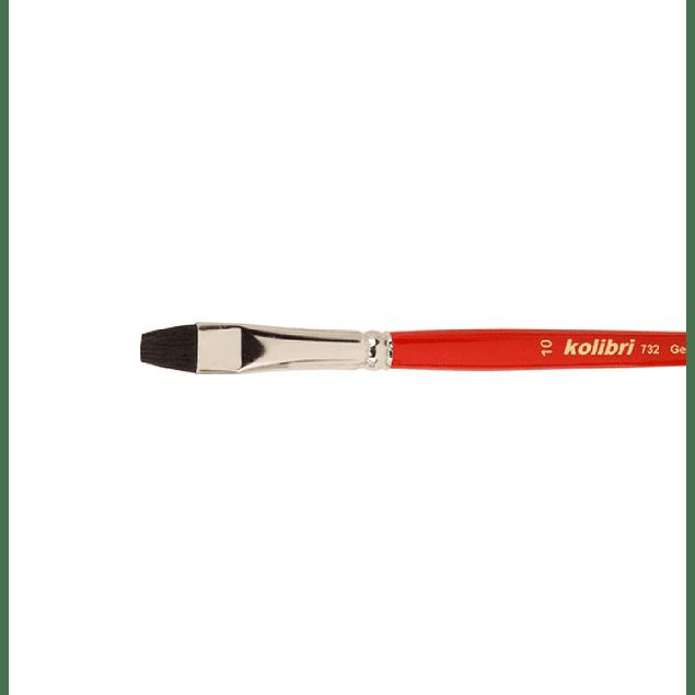 Serie 732 - Pincel de Pelo Natural Buey Negro