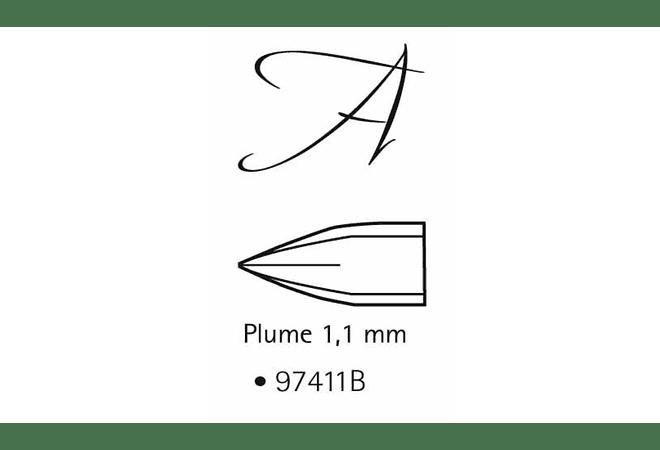 Bolígrafo Pluma de caligrafía 1,1MM