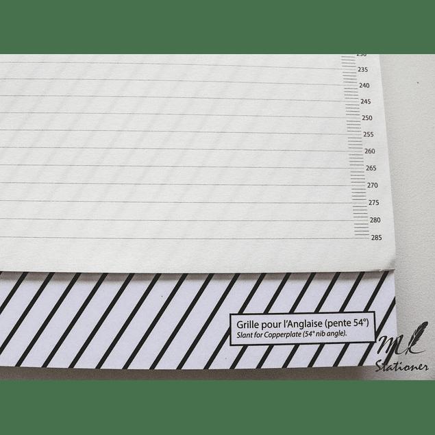 Block de caligrafia 29,7x23,1cm