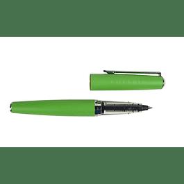 green metal roller ballpen green metal
