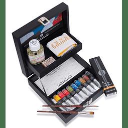 Caja de colores al óleo extrafino Sennelier