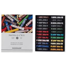 """Sennelier pastel 24 colores """"Iniciación"""""""