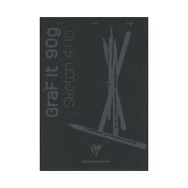 GRAF It - Bloc de dibujo hojas negras - (2 tamaños)