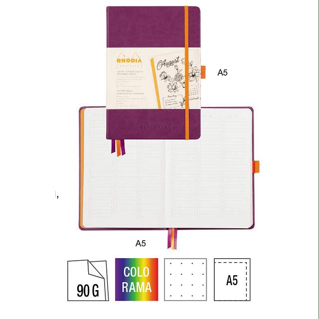 GoalBook Tapa Dura - Color Plata