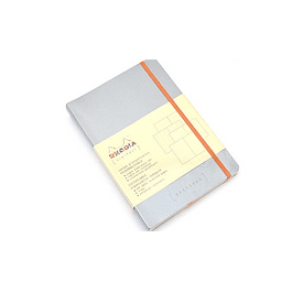 GoalBook Tapa Blanda - Color Plata