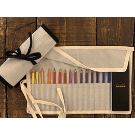 Kit Estuche - Lápices + Libreta