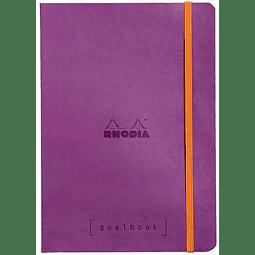GoalBook Tapa Blanda - Color Morado