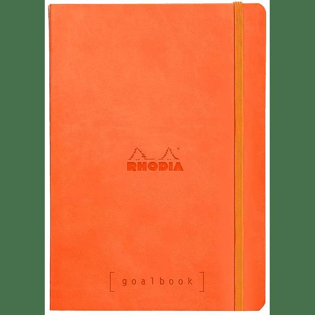 GoalBook Tapa Blanda - Color Mandarina