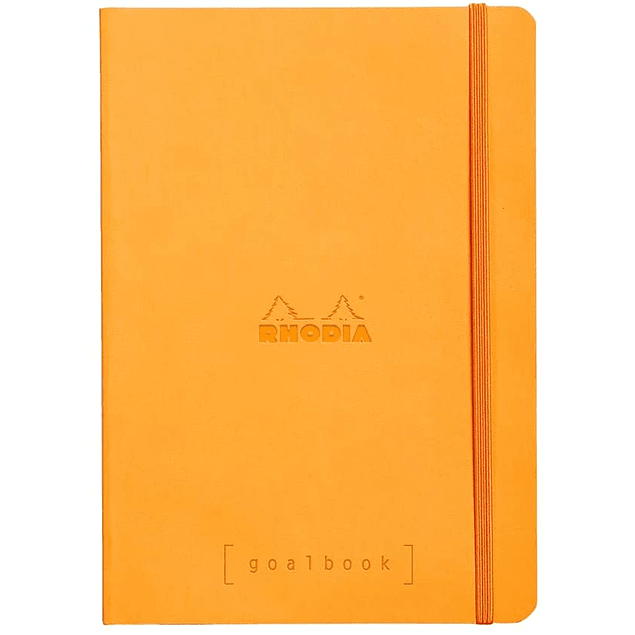 GoalBook Tapa Blanda - Color Naranjo