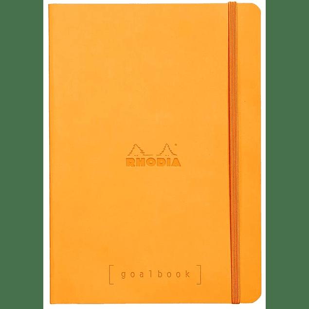 GoalBook Tapa Blanda - Color Naranjo
