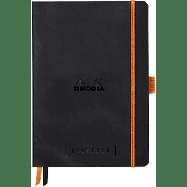 GoalBook Tapa Blanda - Color Negro