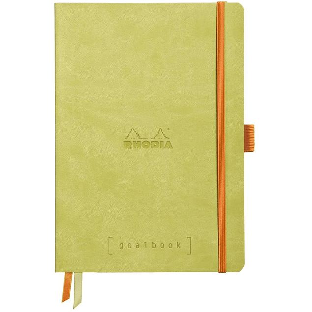 GoalBook Tapa Blanda - Color Anís