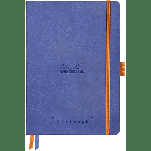 GoalBook Tapa Blanda - Color Zafiro
