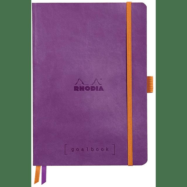GoalBook Tapa Blanda - Color Violeta