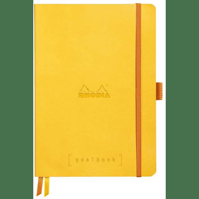 GoalBook Tapa Blanda - Color Amarillo