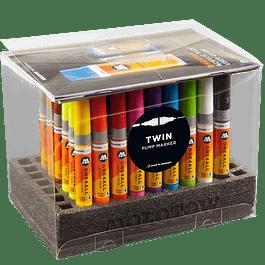 Set Completo 50 marcadores TWIN
