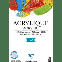 "Bloc para Acrílicos ""Acrylique"""