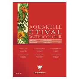 Bloc Etival Grano Clásico - 14,8 x 21 cm 300g 10 hojas