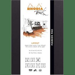 """Rhodia """"Marker Pad"""" (2 tamaños)"""