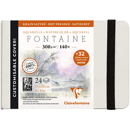 Libreta Fontaine con tarjetas de visita (10x15cm 300g)