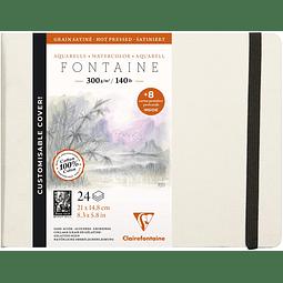 Libreta Fontaine con postales desmontables (21x14,8cm 300g)