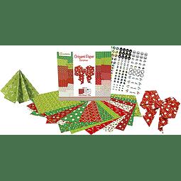 "Pack Origami - 20 x 20 cm - ""Navidad"""