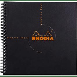 Cuaderno Reversible 21 x 21 cm - (2 Colores)