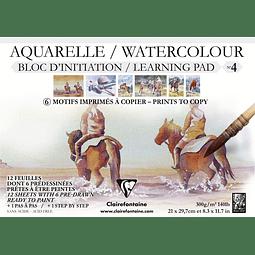 Bloc de iniciación Aquaerela - Pad N°4