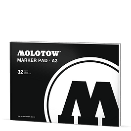 Marker Pad - DIN A3 - 42 x 29,7 cm