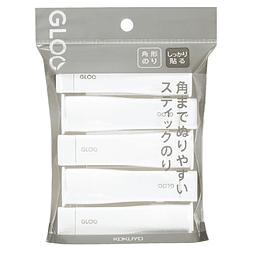 Paquete de 5 tamaño S - Pegamento en barra - Firme